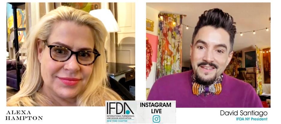 INSTAGRAM LIVE - IFDA NY Takeover