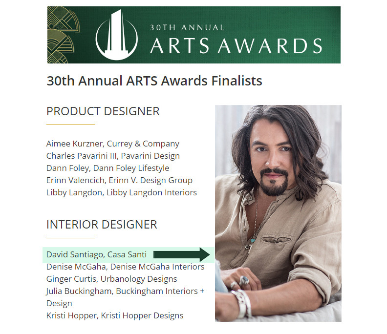 30th Annual ARTS Awards Finalists
