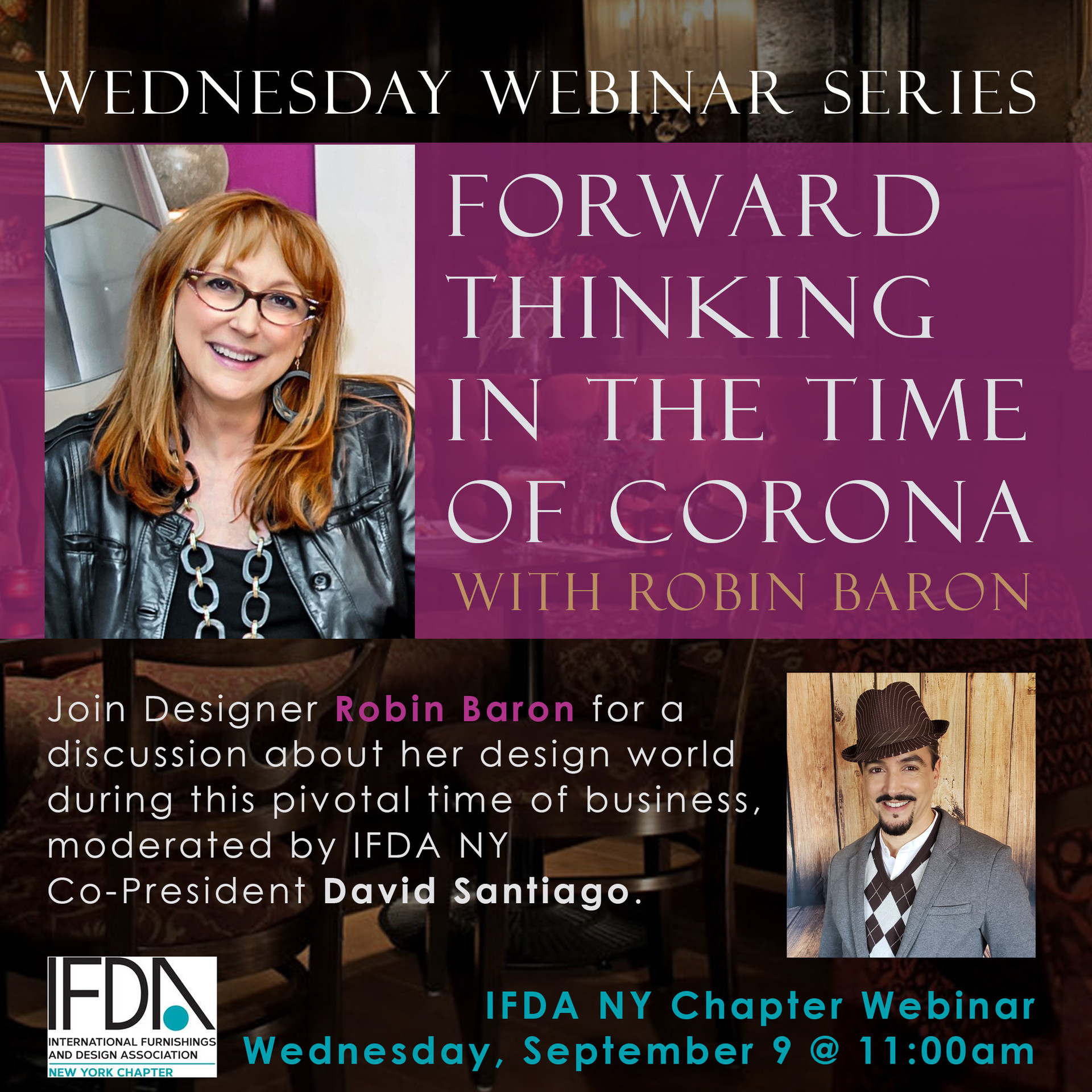 Forward Thinking in the Time of Corona with Robin Baron