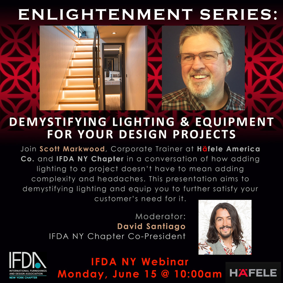 Demystifying Lighting & Equipment for your Design Projects  | June 15, 2020