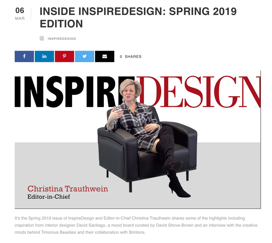 Inside INSPIRE DESIGN