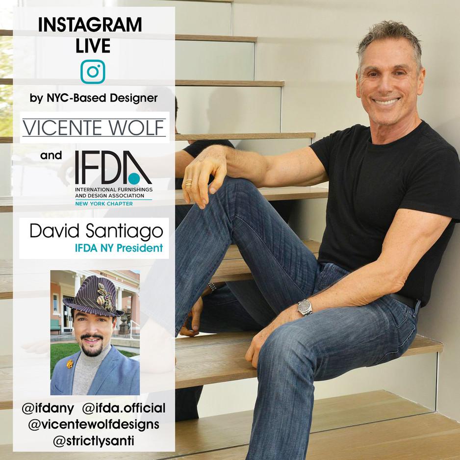 INSTAGRAM LIVE - Vicente Wolf & David Santiago - March 11, 2021