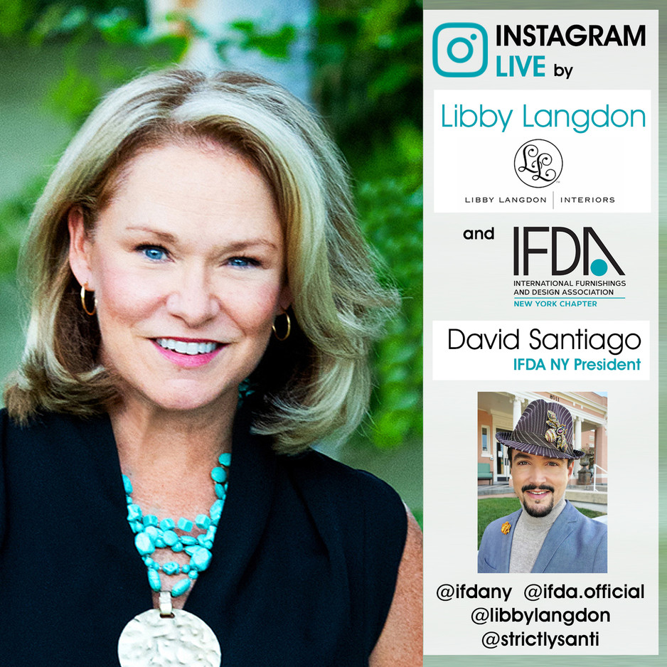 INSTAGRAM LIVE - Libby Labgdon & David Santiago