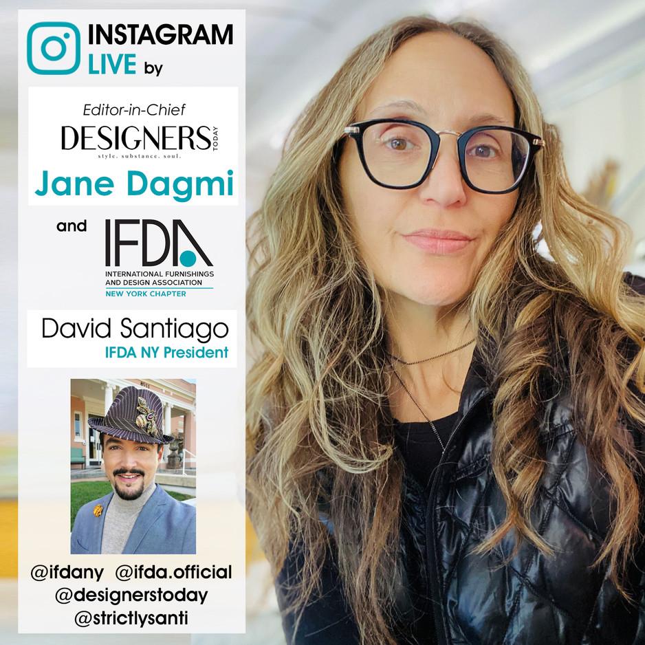 INSTAGRAM LIVE - Jane Dagmi & David Santiago - March 19, 2021