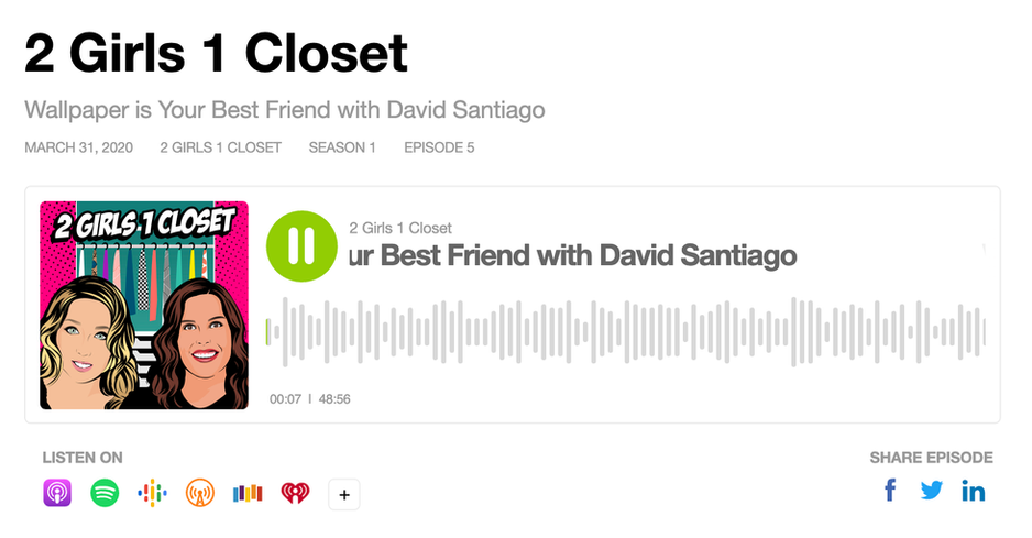2 Girls 1 Closet Wallpaper is Your Best Friend with David Santiago