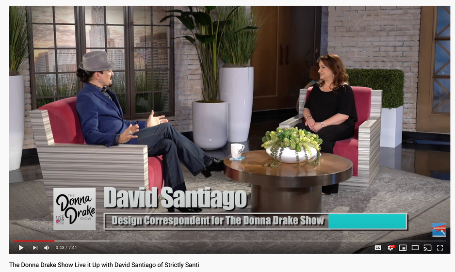 The Donna Drake Show Live it Up with David Santiago of Strictly Santi