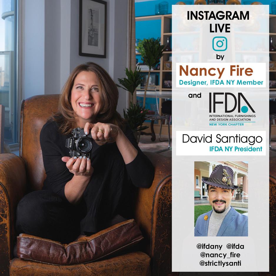 INSTAGRAM LIVE - Nancy Fire & David Santiago - March 5, 2021