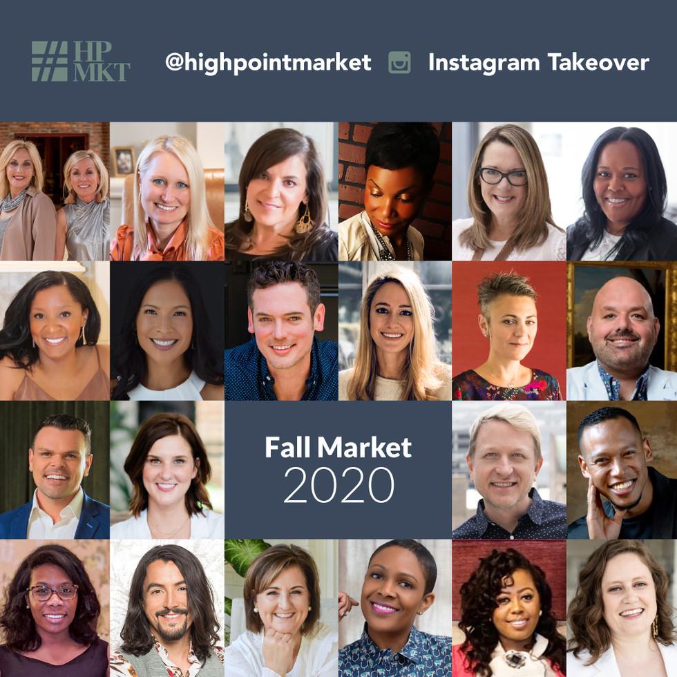 High Point Market – Reimagining Home  Market Week:  October 13-21, 2020