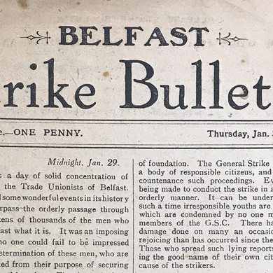 Here's To The 44: The Belfast Engineering Strike of 1919