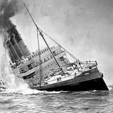 Belfast and the Lusitania Disaster