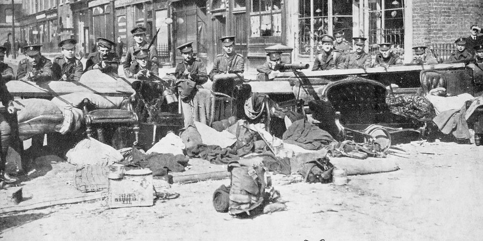 1916 Walking Tour: Stories of the Easter Rising and the Somme (Easter Sunday)