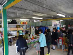 長洲官立中學攤位