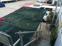 有蓋停車區綠化