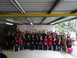 參與是次活動機構人員與主禮嘉賓合照