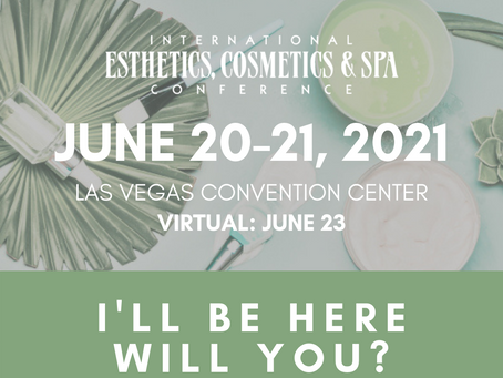 DermaSpa Distributors will be here will you? Booth #1129 #LVSpaShow