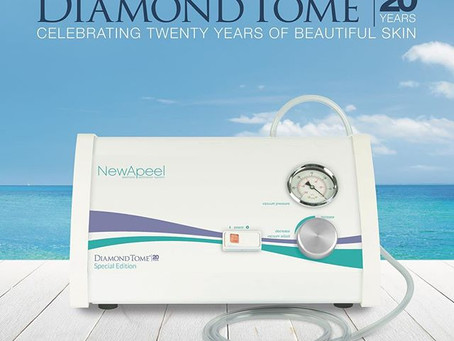 Original Patent DiamondTome® Debuted 20 Years Ago!! #stillgoingstrong #diamondtome #beautifulskin
