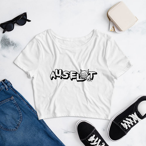 Auselot Women's Crop Tee