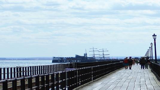Walk On Pier