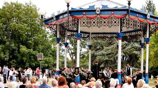 Southend Priory Bandstand