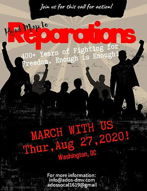 Road Map to Reparations March 2020
