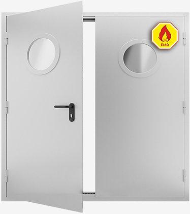Противопожарная дверь двупольная ДМПО-02 EIS-60 от 2400х2000