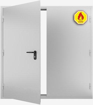 Противопожарная дверь двупольная ДМП-02 EIS-90 от 2500х2000