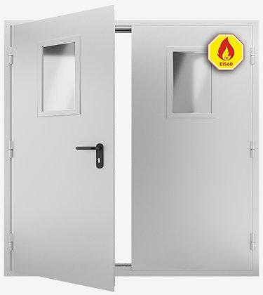 Дверь противопожарная, двупольная ДМПО EIS-60