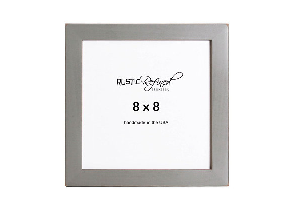 "8x8 1"" Gallery Picture Frame - Grey Green"