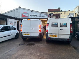 DSR French Garage North London Service Repair Front Palmers Green