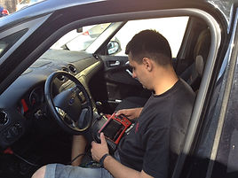 DSR Fiat Alfa Romeo Diagnostic Testing North London
