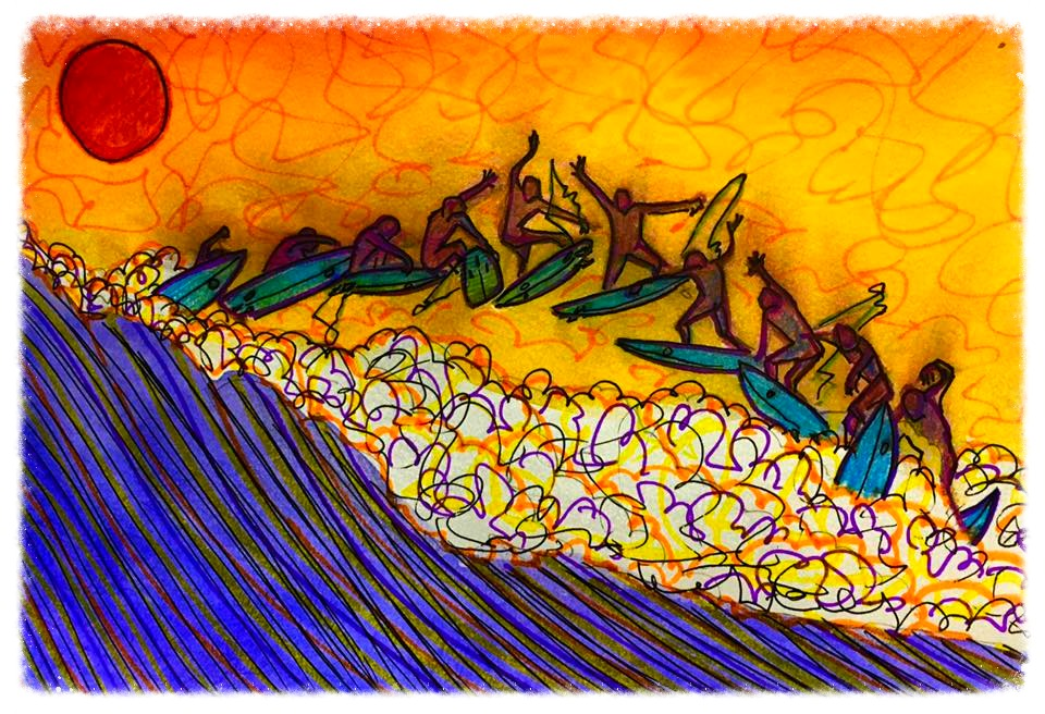 Surf Art by Brent April #27 2016