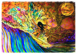 Surf Art by Brent February #11