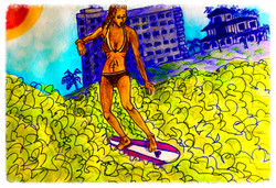 Surf Art by Brent February #27