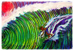 Surf Art  by Brent January #28