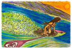 Surf Art by Brent March #14