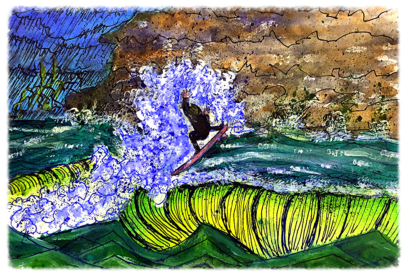Surf Art  by Brent January #31