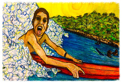 Surf Art by Brent April #24 2016