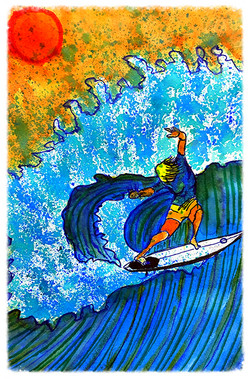 Surf Art by Brent February #1