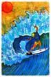 """Surf Art by Brent"" / PBCATA Art Show Opening Wednesday 2/17/16 6-9pm , Armory Art Center,"