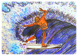 Surf Art by Brent January #6