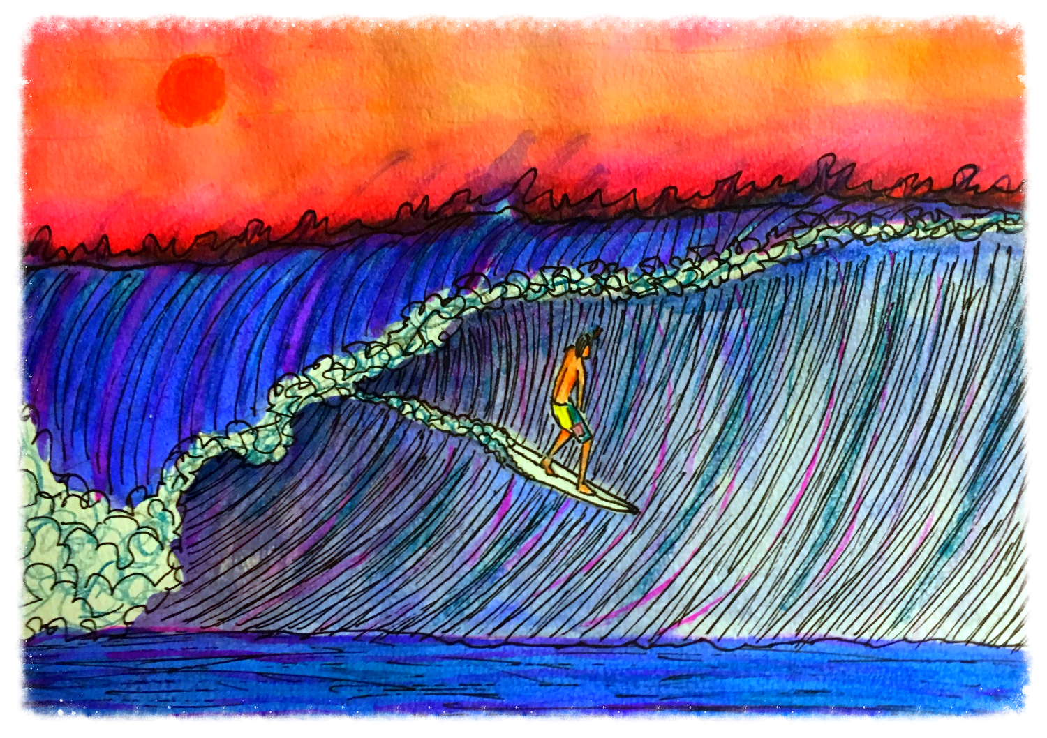 Surf Art by Brent March #1