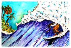 Surf Art  by Brent January #18