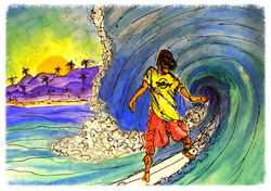 Surf Art  by Brent January #10
