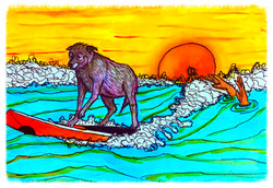 Surf Art by Brent March #3