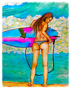 Surf Art by Brent March #8