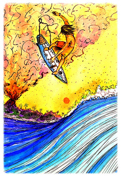 Surf Art  by Brent January #8