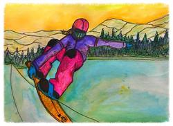 Surf Art by Brent April #15 2016