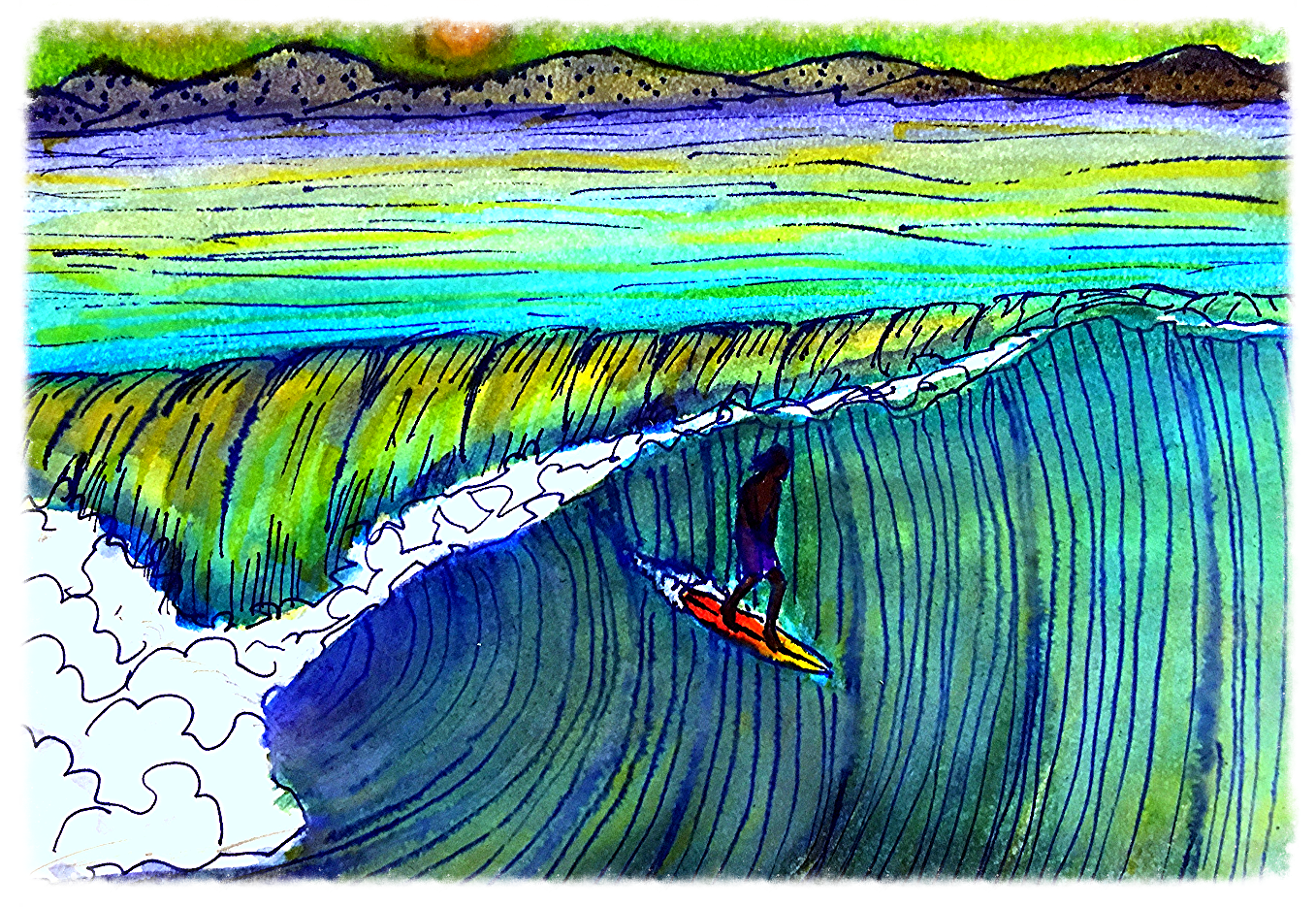 Surf Art  by Brent January #29