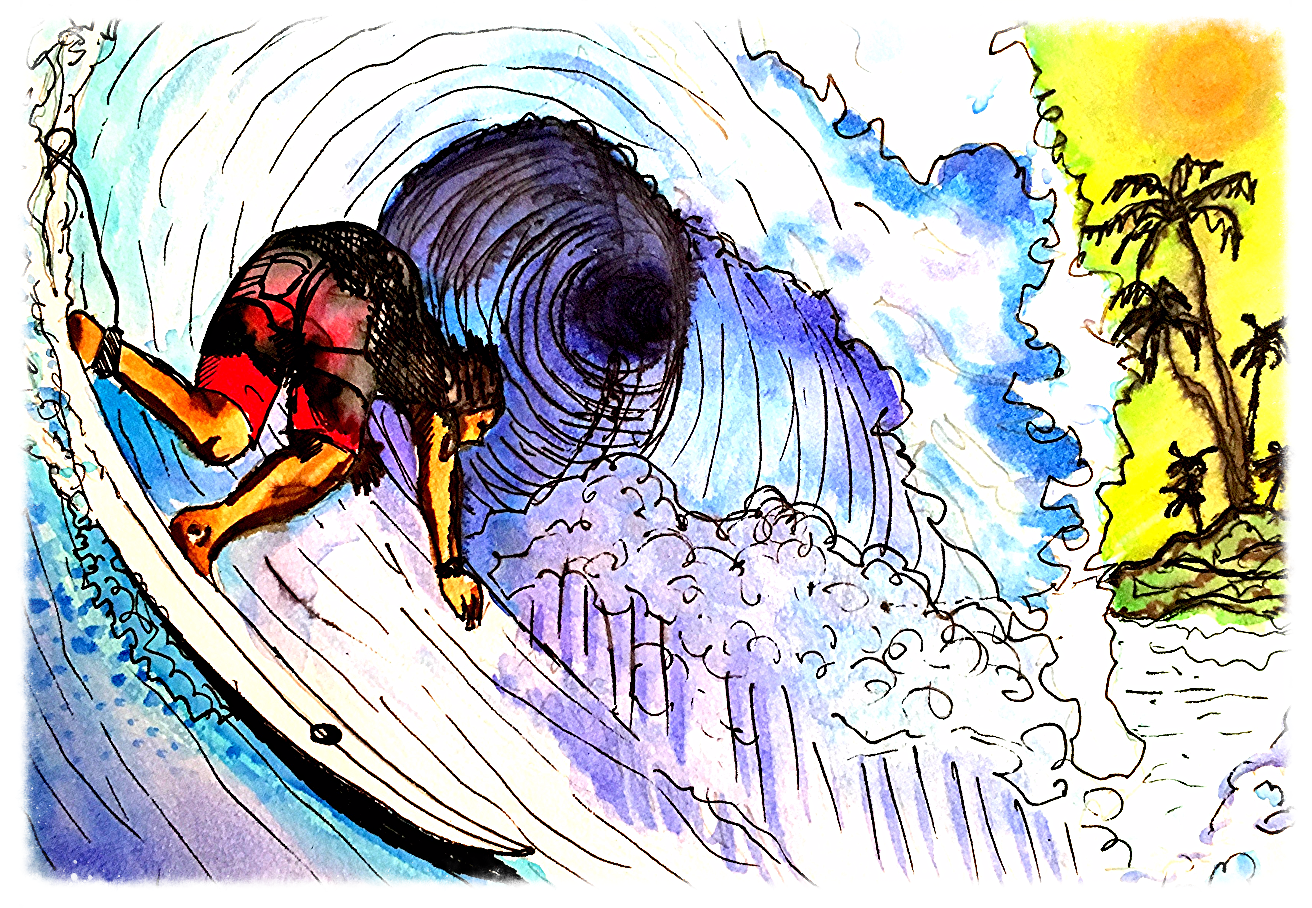 Surf Art  by Brent January #23