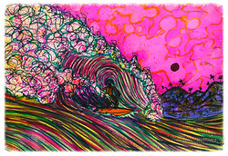 Surf Art by Brent February #4